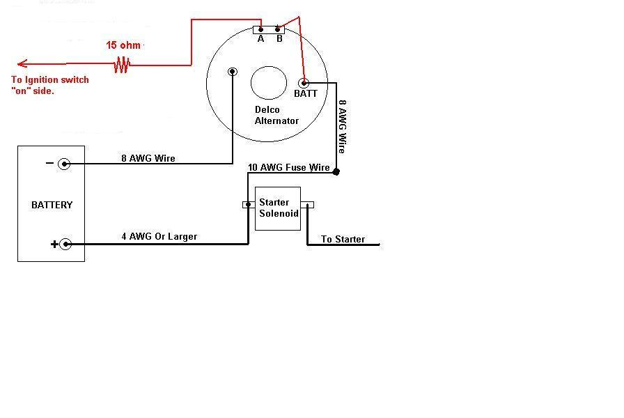 Wiring Diagram For 1 Wire Gm Alternator Diagram Base Website