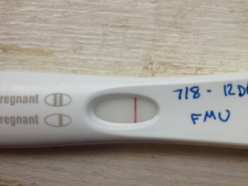 False Positive 13 Days Post Trigger Possible Bfp Mentioned Justmommies Message Boards