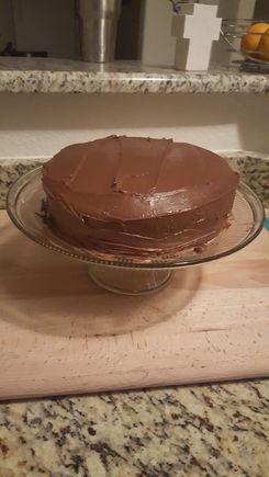 I finished my cake!!!