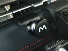 Phone holder mounting plate for mazda2/CX-3