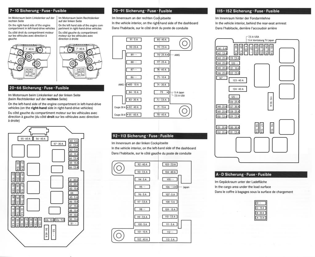 519599  and Does Not Power on mercedes benz 2007 s550 fuse box diagram