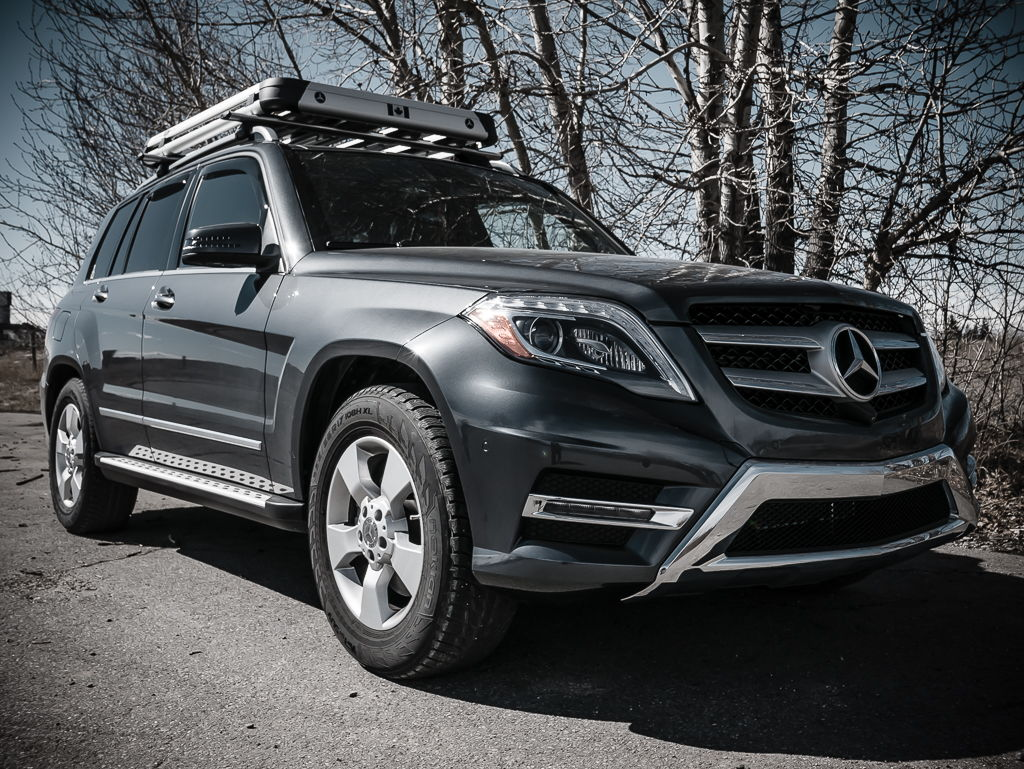 Setting up a glk for off roading