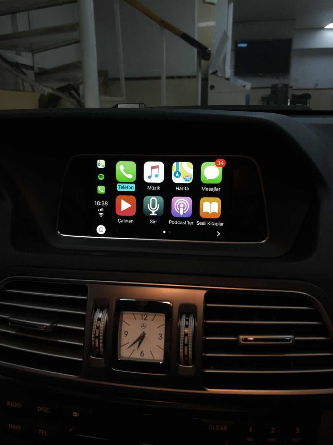 Unichip Carplay Retrofit For 2015 E300 C207 Ntg45 Navi Mbworld Wiring Diagram Hi Guys We Just Retrofitted The Its A Welcome Any Comments From Teccom