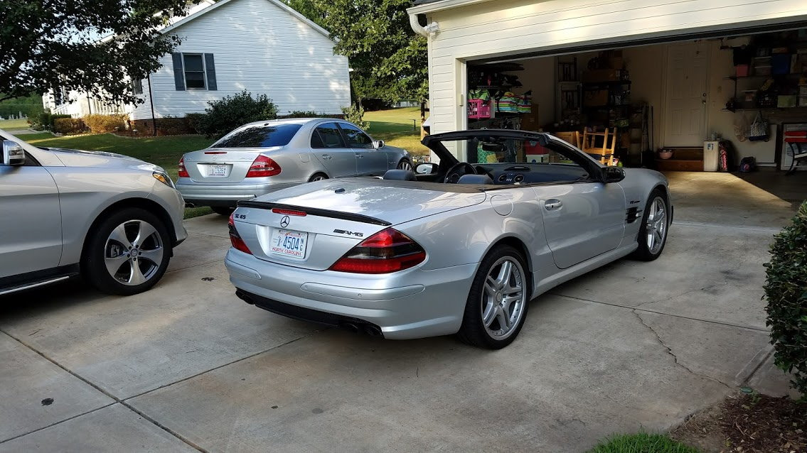 SL65 P0335 code fixed   and other stuff - a 6 month owner