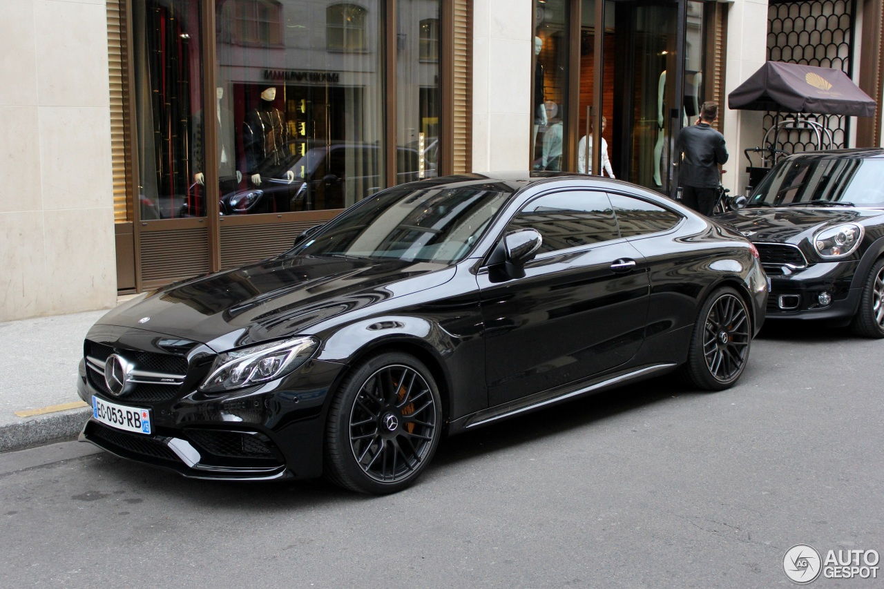 Mercedes amg c63s coupe in selenite grey pics page 24 for Mercedes benz c63s
