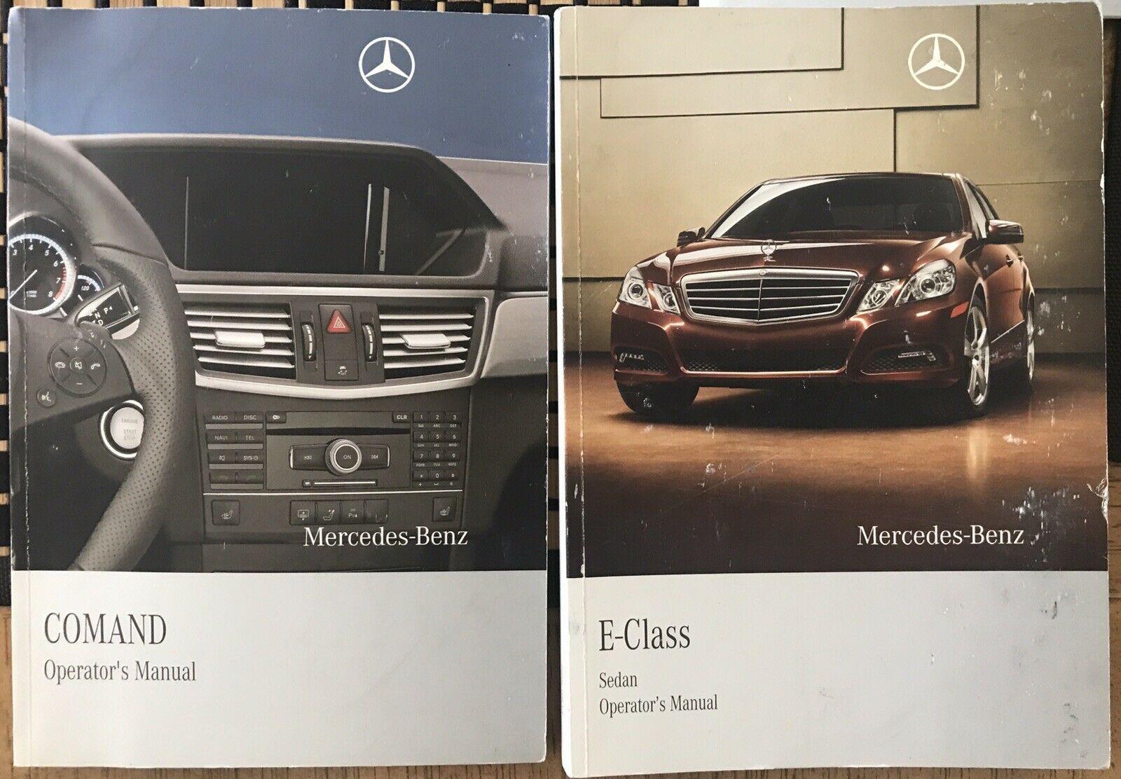 Mercedes E350 E550 W212 E Class Owners Manual Case Manuals OEM