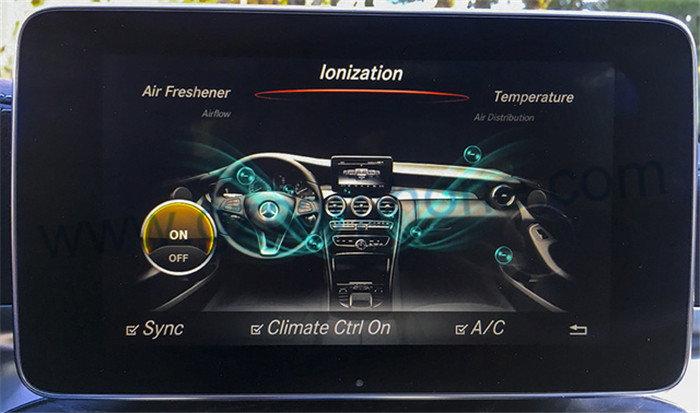Mercedes glc x253 oem design air freshener and ionizer for Mercedes benz air freshener