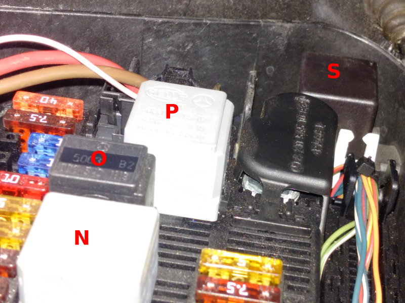 W211 Fuses, Relays, SAM Modules chart - MBWorld org Forums