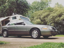 My 2003 Mercury Grand Marquis GS. Spruce Green Metallic with 76,000 miles.