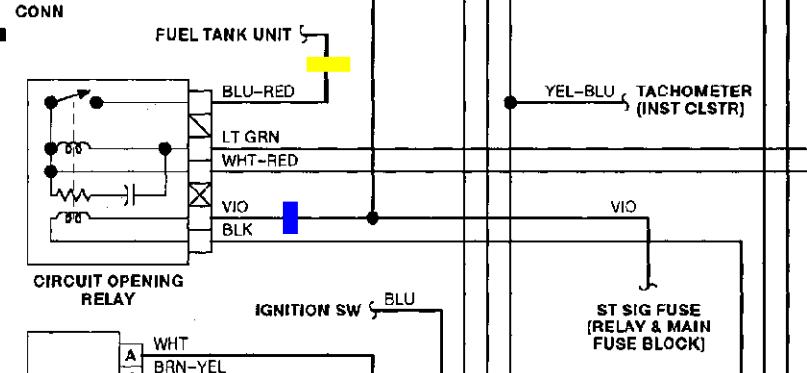Miata Fan Relay Wiring Diagram on