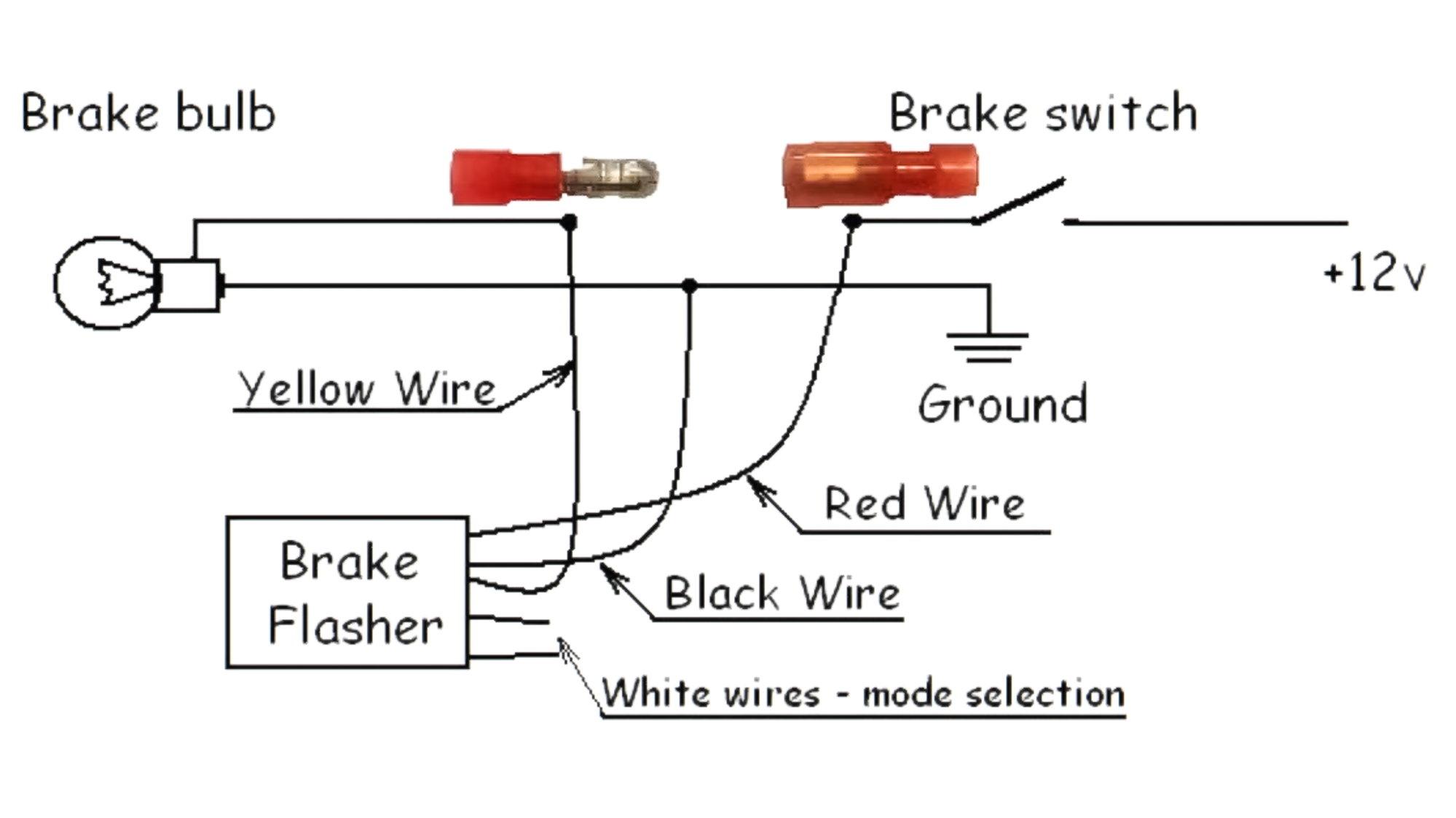 brake light wiring diagram third brake light flasher myg37 brake light wiring diagram mustang third brake light flasher myg37