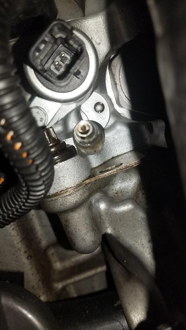 Error code: 287D -- Intake camshaft actuator - North