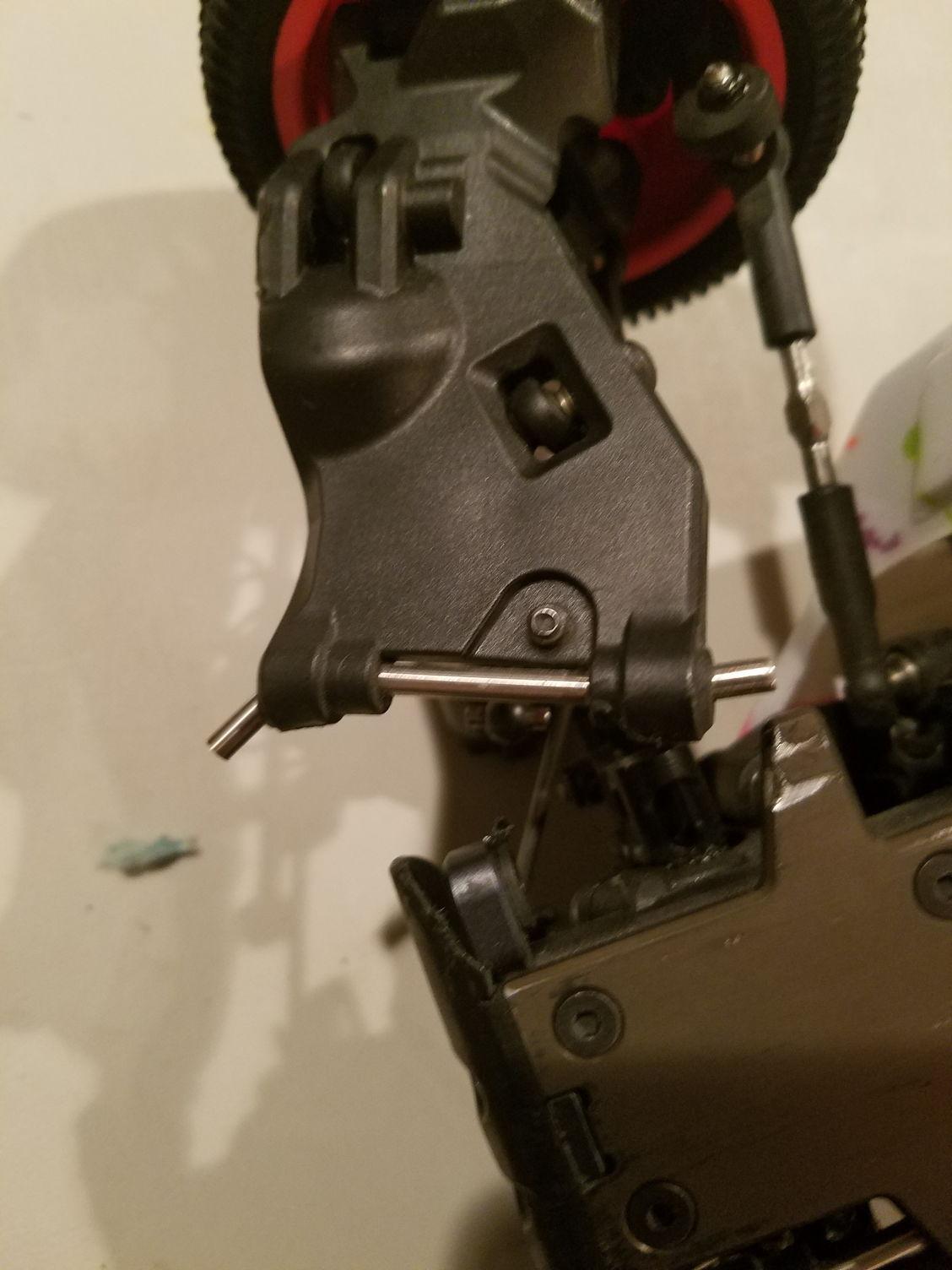 Custom Works Steering Bell Crank #3647