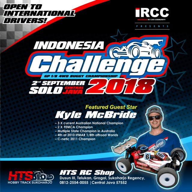 Ircc Indonesia Challenge 2018 R C Tech Forums