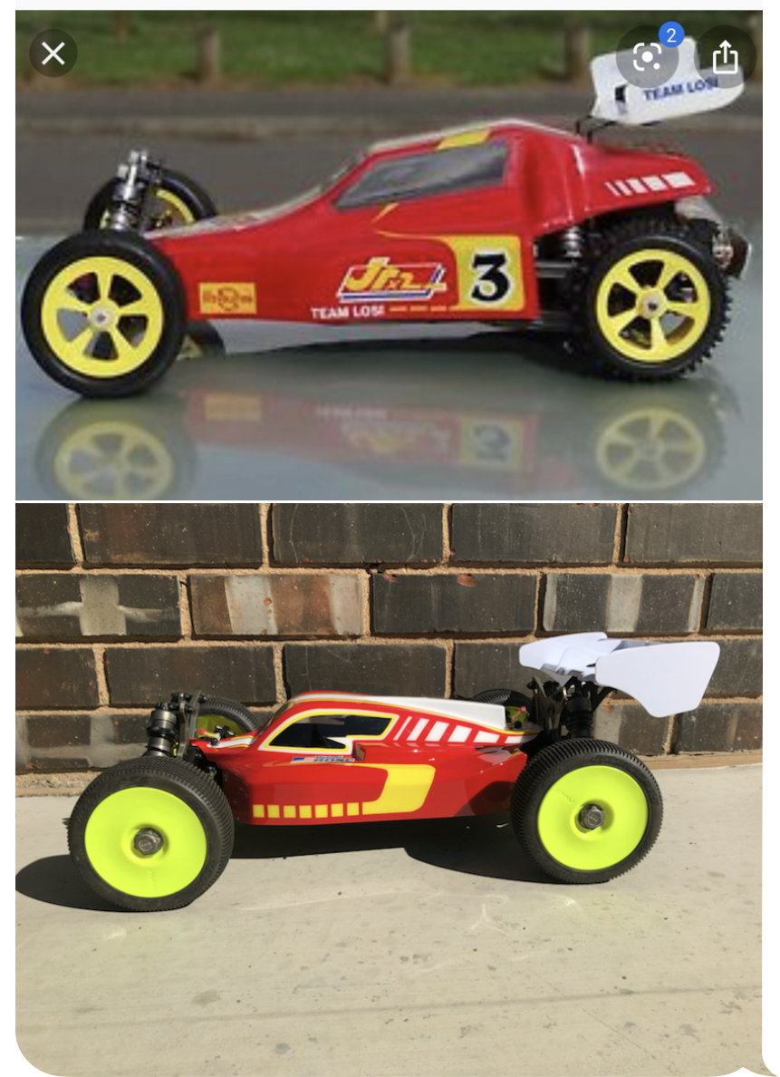 2 Team Losi Racing Rear CV Driveshaft Set Deep Yolk 8X 8XE