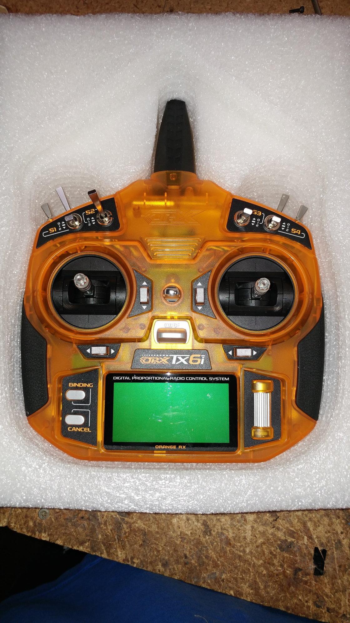 OrangeRx Tx6i Full Range 2 4GHz DSM2/DSMX Transmitter - RCU Forums