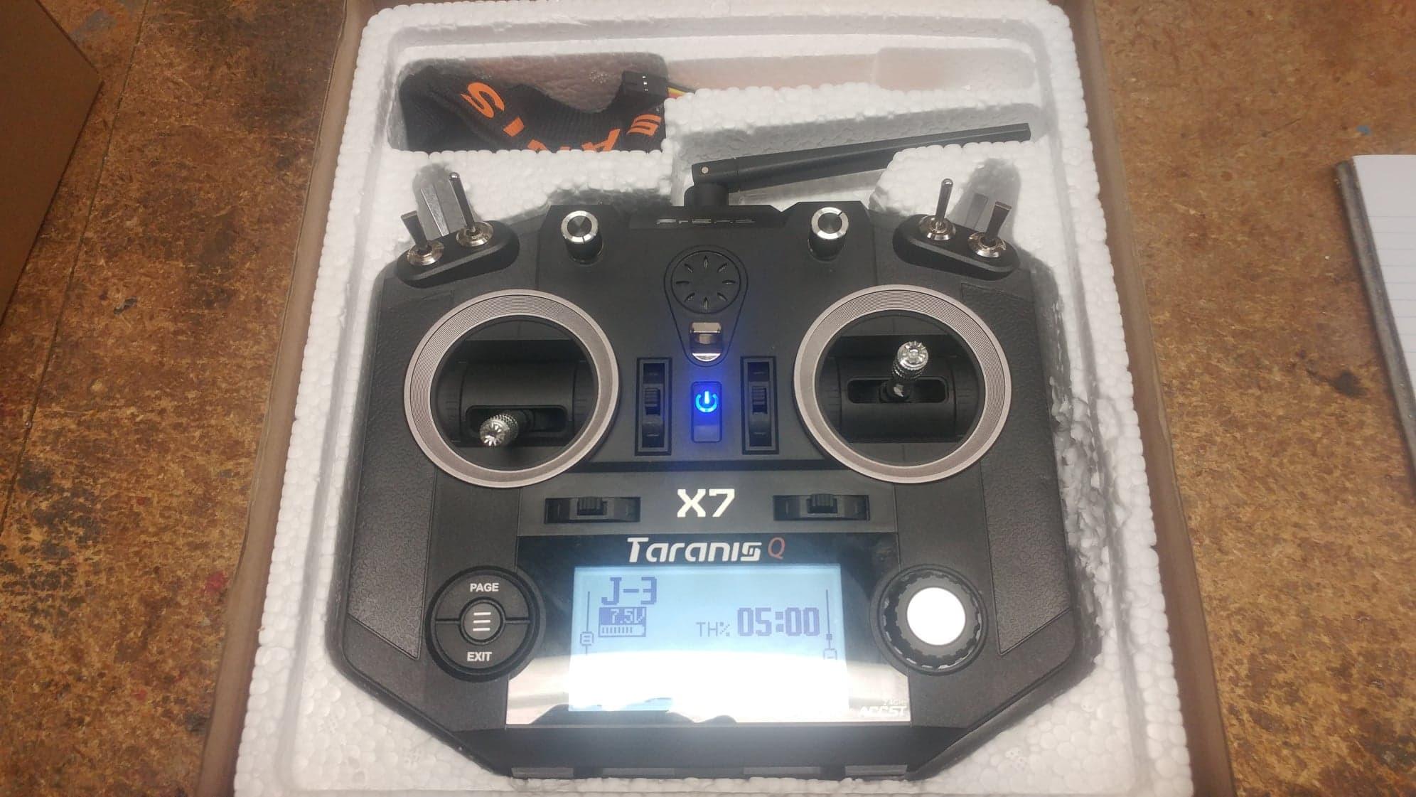 Taranis QX7 Transmitter - RCU Forums