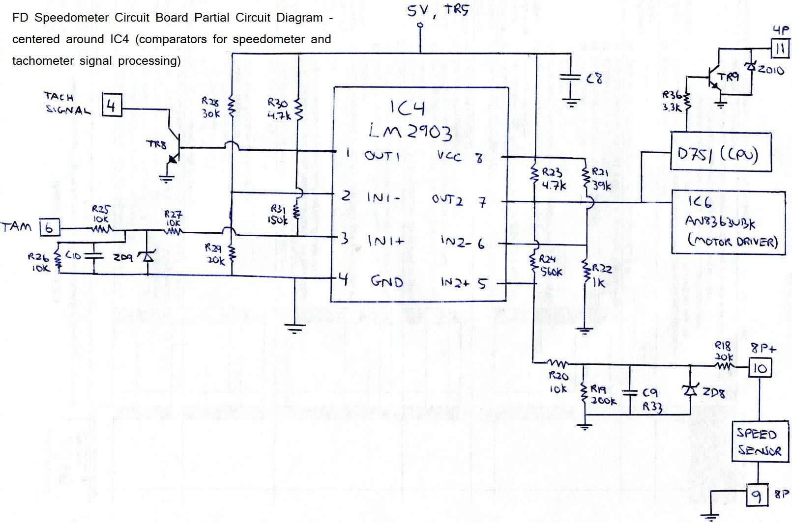 80 fd_speedo_board_ic4_circuit_diagram_2_dfbb9440642ecb893669d864e4bb48db68f57ffe extremely simple fd tach odometer repair rx7club com mazda 1991 Rx7 Wiring-Diagram at bayanpartner.co