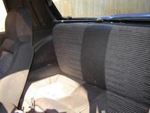 jdm rear seats
