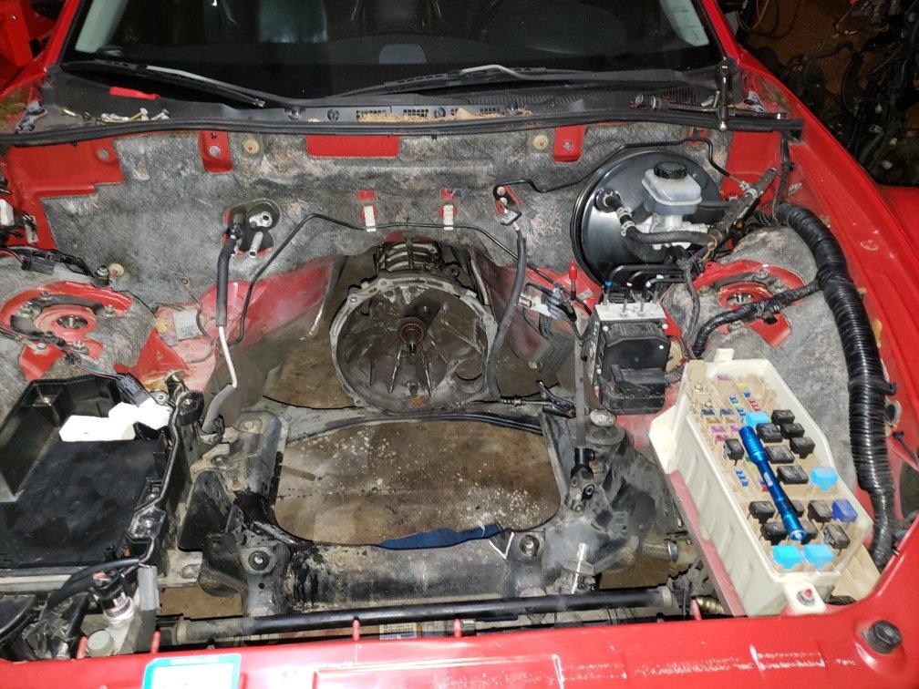 1JZ Engine Swap - RX8Club com
