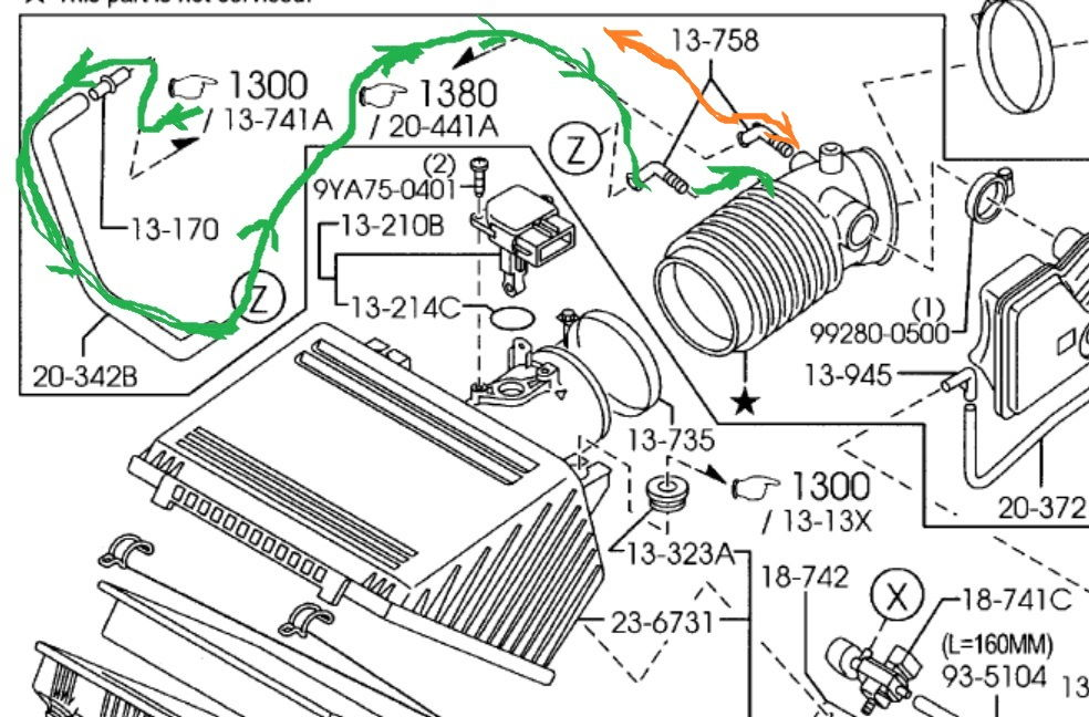 2008 volvo s40 radiator diagram