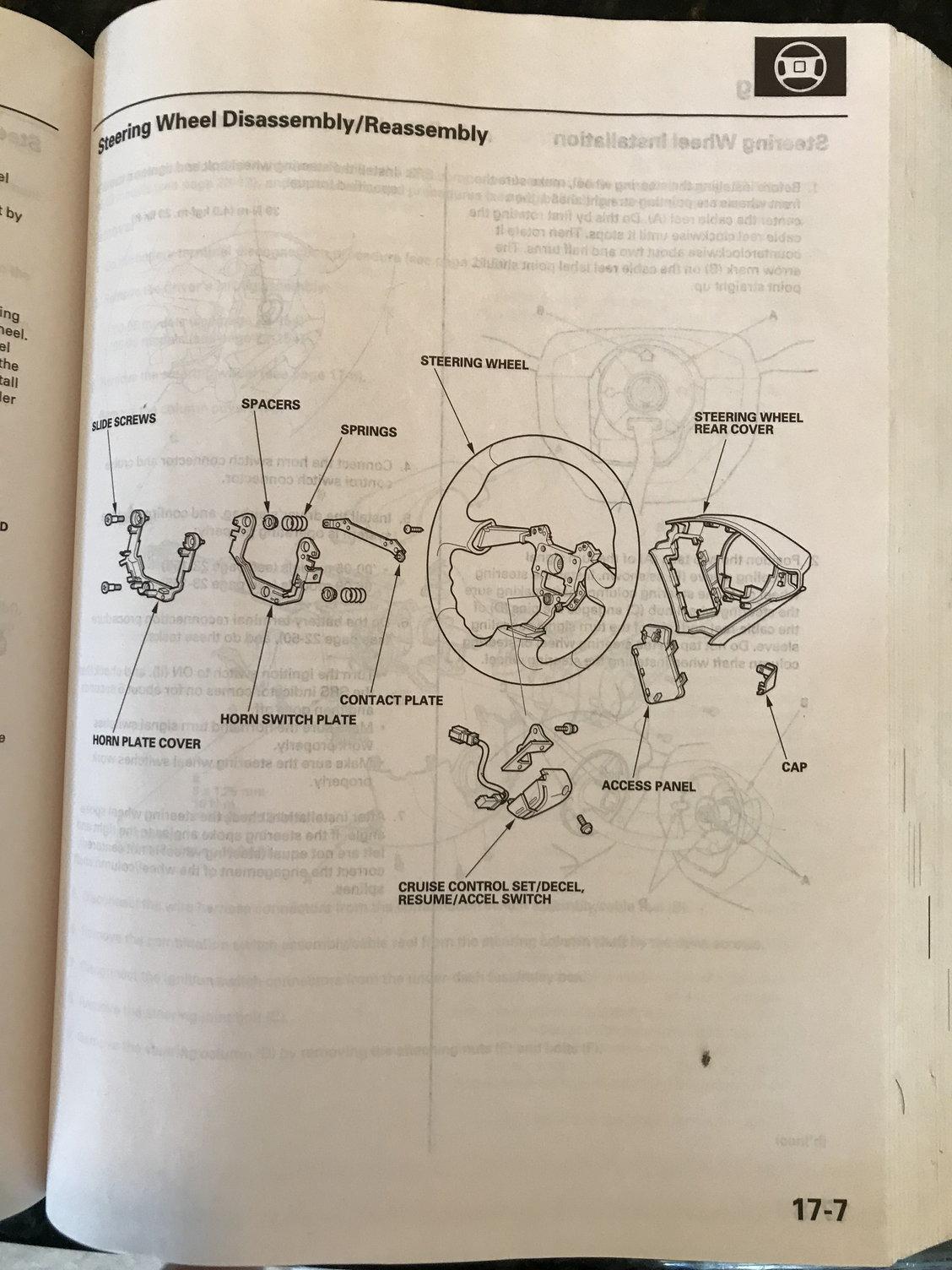 Guage Cluster Wiring Diagram