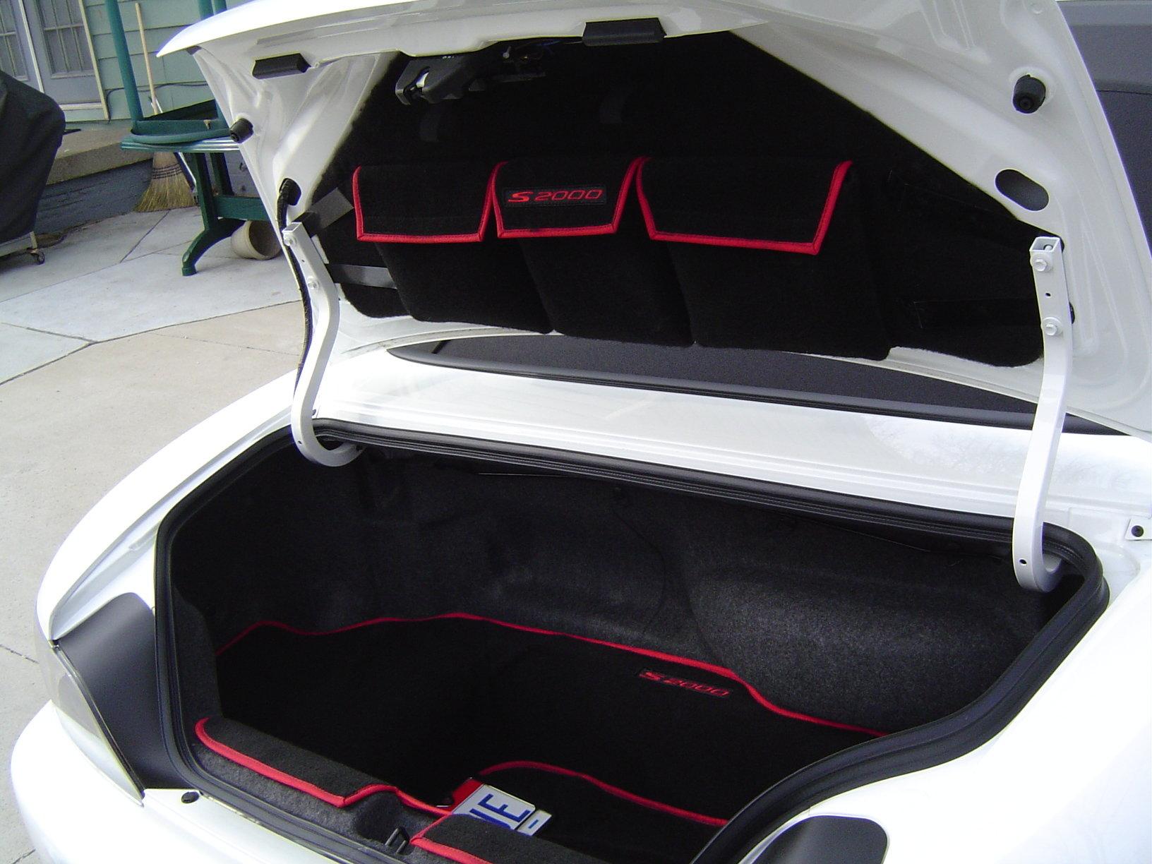 F S Brushed Aluminum S2000 Visor Plates S2ki Honda