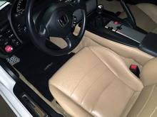 Black S2000 Euro Mats in Tan Interior