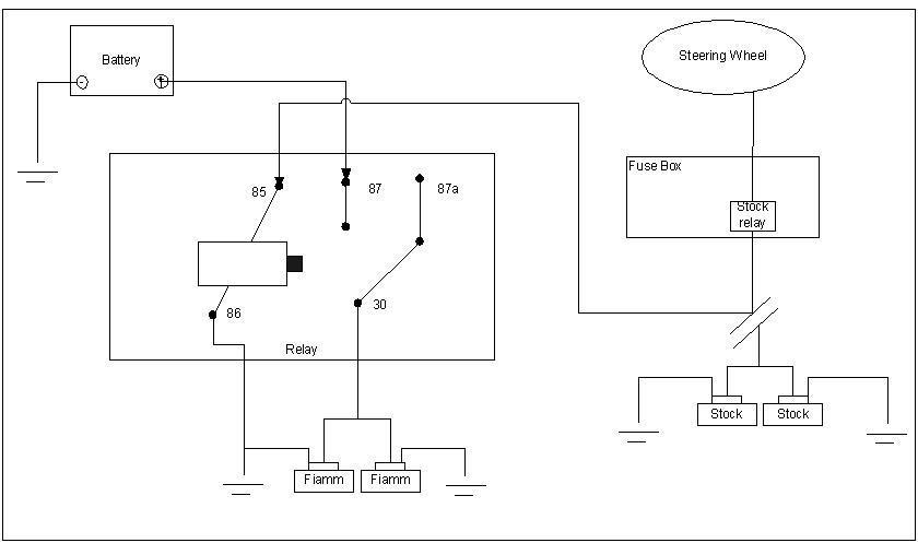 Air Horn Wiring Diagram Compressor