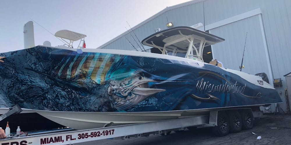 Coolest Boat Wraps That You Ve Seen Page 2 The Hull