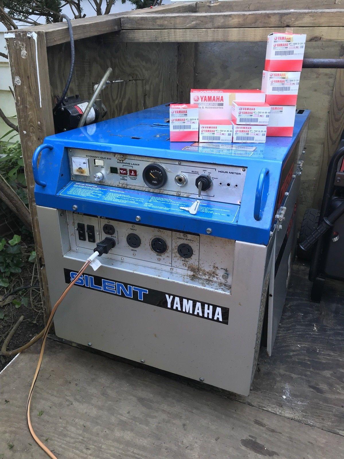 Yamaha Quiet Diesel Generator 5 5Kw asking $1000 00 - The