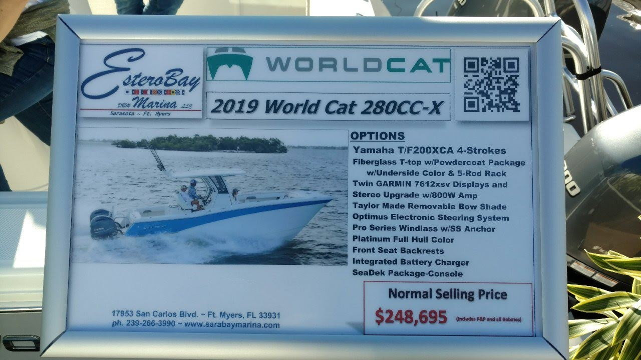 New model -- Worldcat 280CC-X Center Console - Page 6 - The