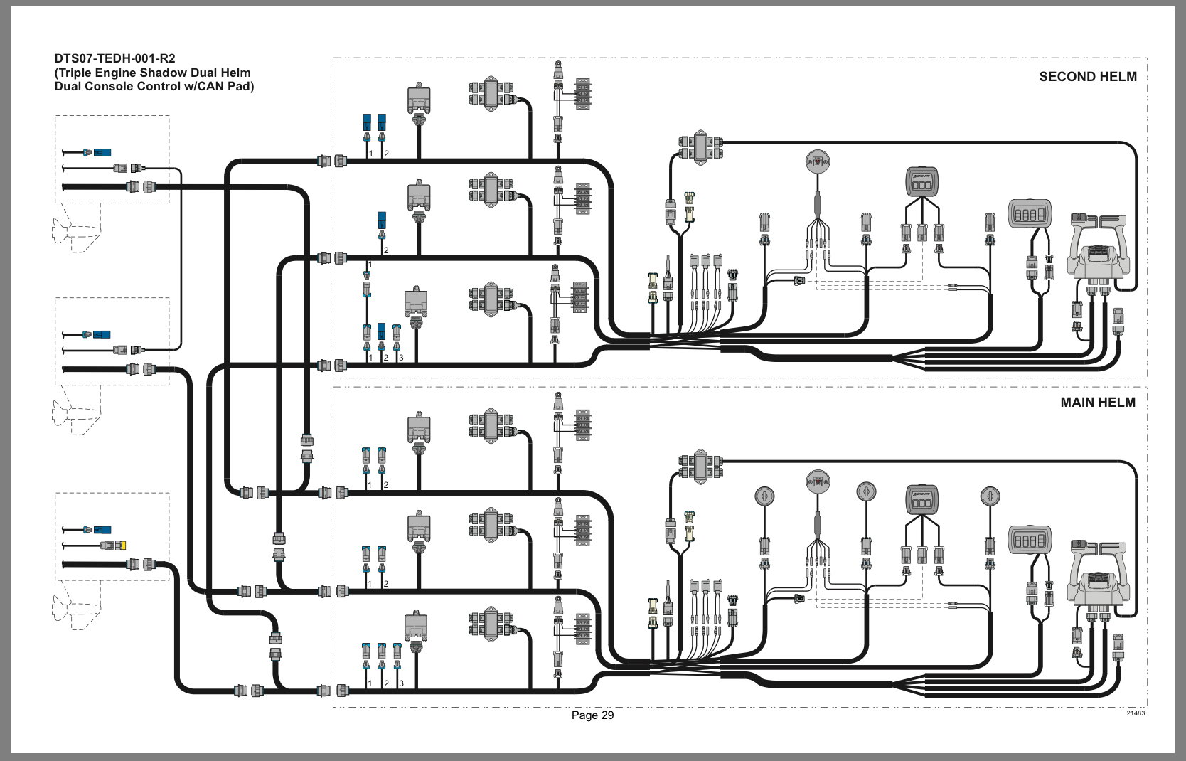 Quicksilver Throttle Lever Wiring Diagram on
