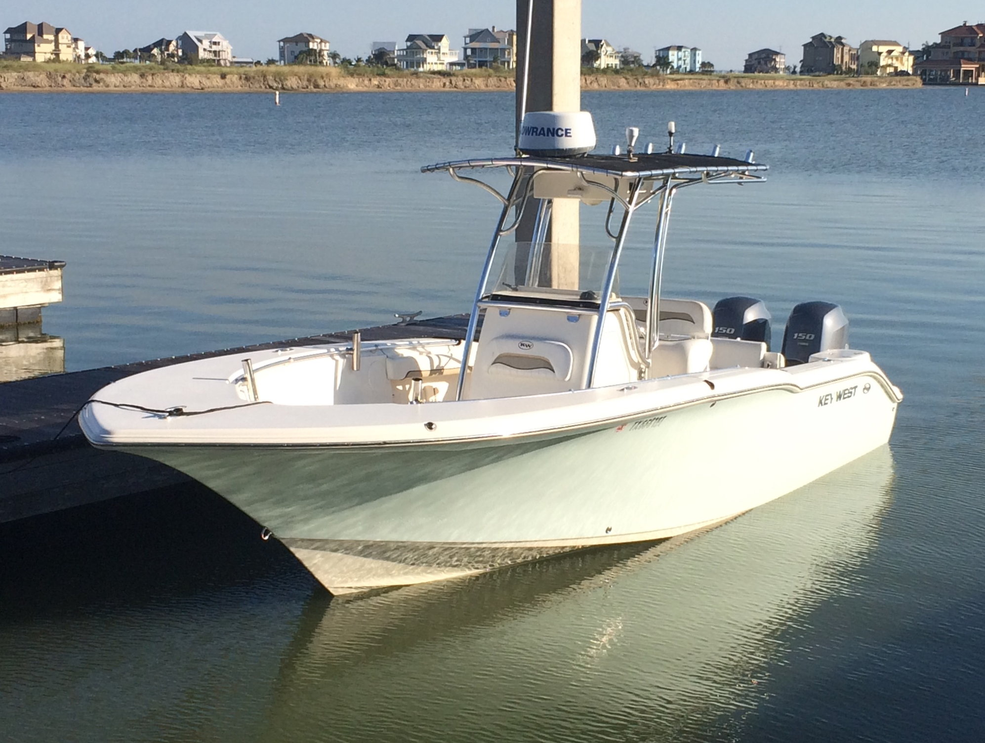 Key West 244cc For Sale 2010 2012 Model With Twin Yamahas The Hull Truth Boating And Fishing Forum