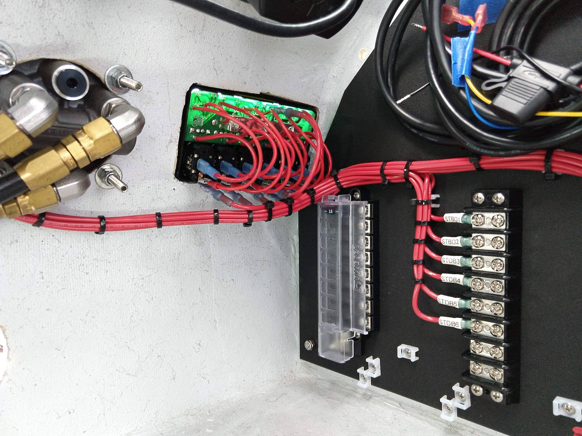 Install Switch Panel Boat