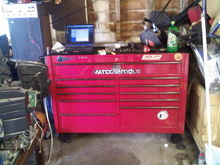 the office  away  from the office   ...  yeah  its  my  man  cave   AKA  the  garage    lol
