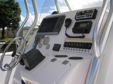 Console - Garmin 4212, Uniden VHF, Clarion stereo
