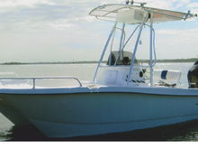Cat Boat in the ICW - Caracal 18 CC with 140 Suzuki 140 4 Stroke