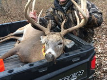 Cousin and Kansas Deer