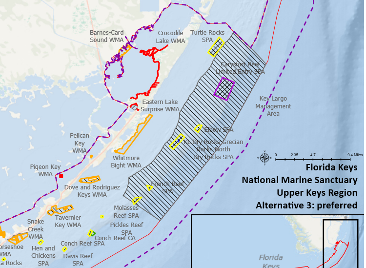 Florida Keys Spearfishing Map Eight no fishing zones proposed in the Keys   Page 3   The Hull