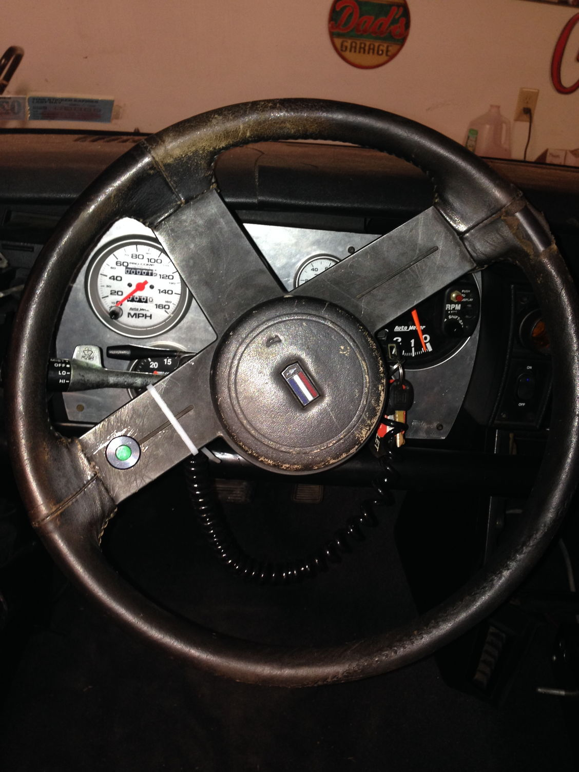 New Jersey Camaro Steering Column W Steering Wheel