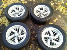 Used rims purchased 3/11/2017