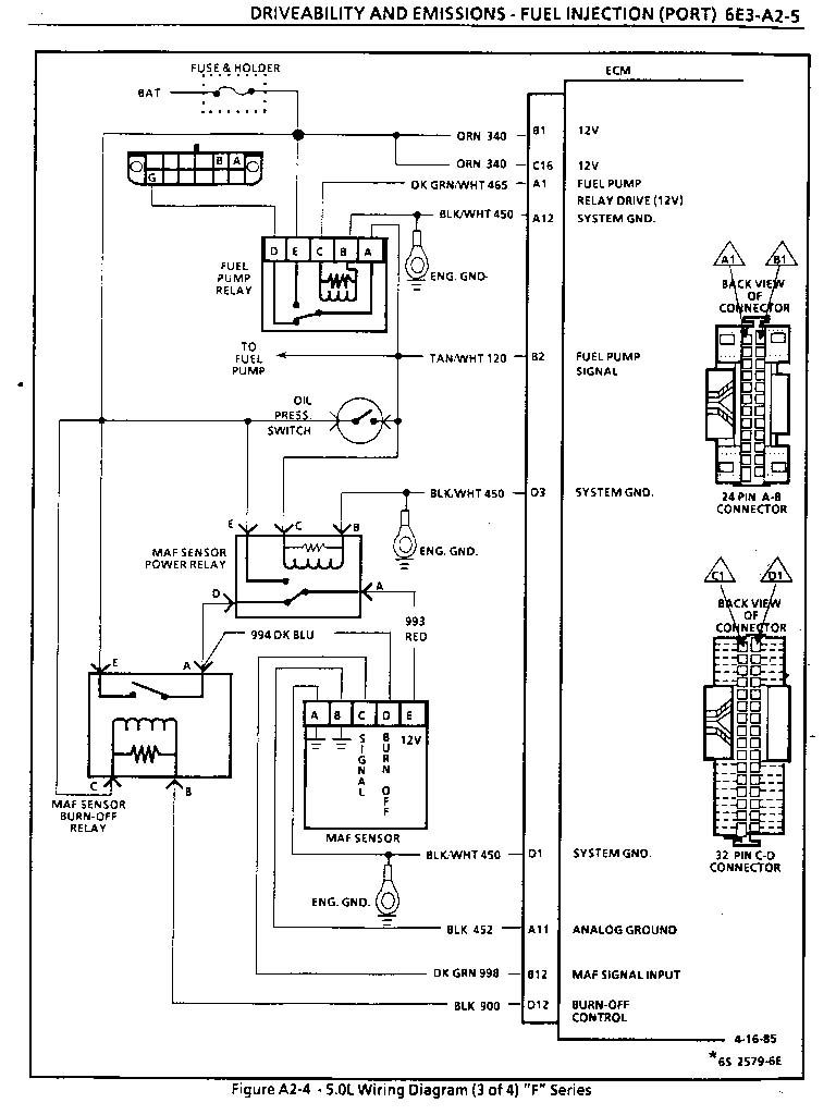 1986 firebird 305 tpi, won´t rev, code 34. - ls1tech ... cadillac 1963 windows wiring diagram all about diagrams ford f250 1986 engine control module wiring diagram all about