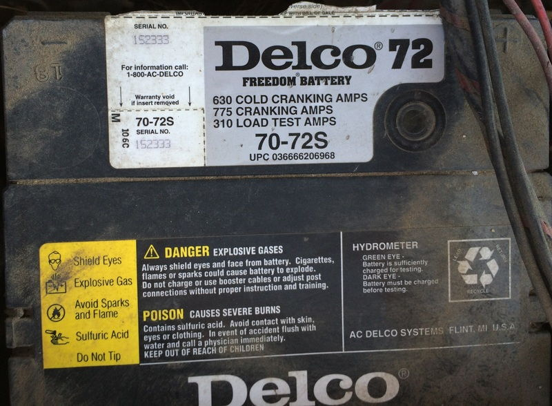 ac delco battery serial number lookup