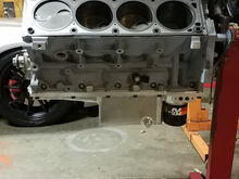 Coming together... oil pan looks great