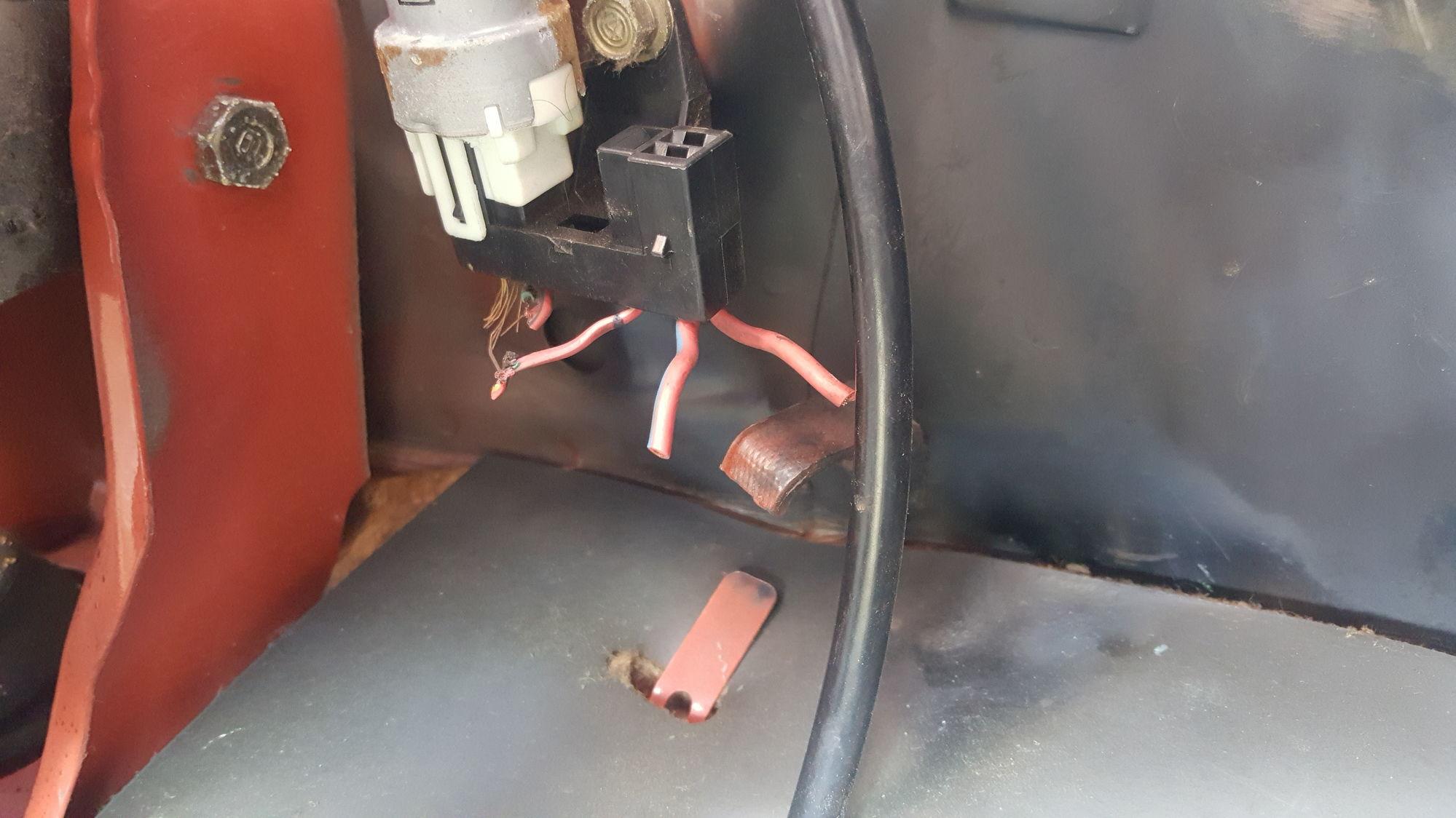 1982 Toyota 4x4 Pickup Headlight Relay Wiring