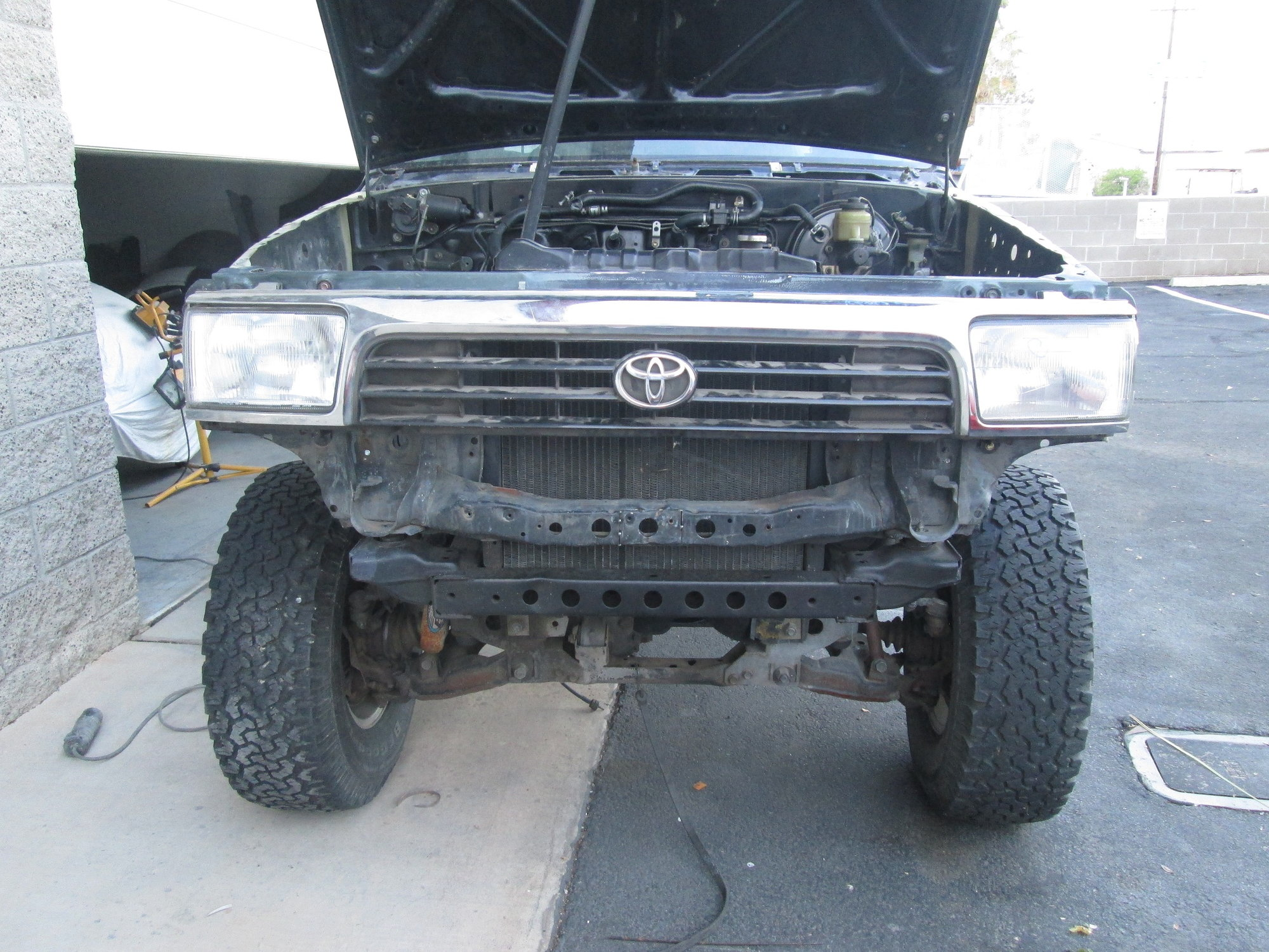 Another Conversion  My  U0026 39 90 V6 Truck Gets An Lt1 V8