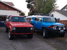 I do love my FJ, as you can see i have worked on giving it the retro vibe.