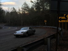 The mountain roads of Pennsylvania