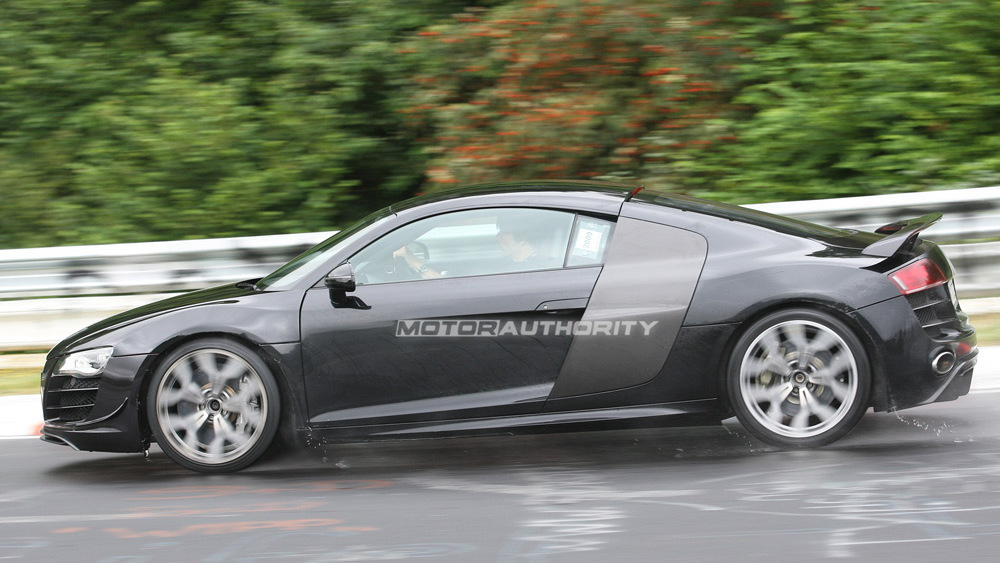 Audi R8 Sport spy shots